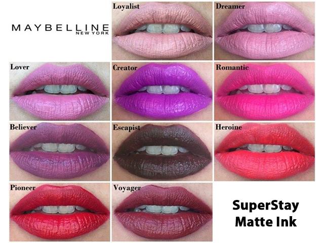 Maybelline New York SuperStay Matte Ink yorumları