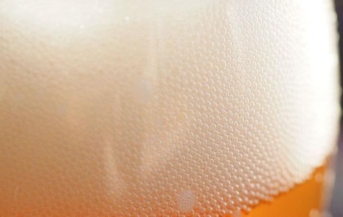 Bira mayası maskesi