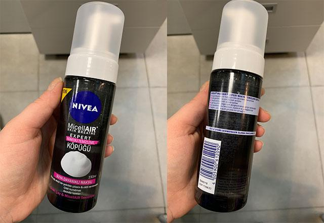 Nivea Micellair Expert Makyaj Temizleme Köpüğü